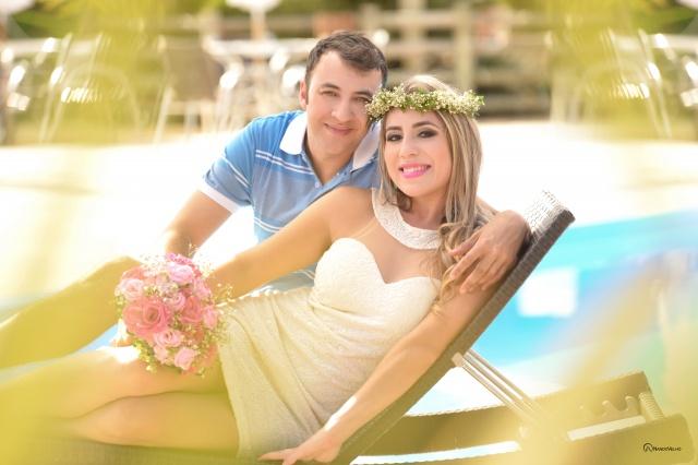 Naiara Cristina Correa e André Carvalho Vargas dizem o seu Sim! Nesse sábado Foto Nando Velho