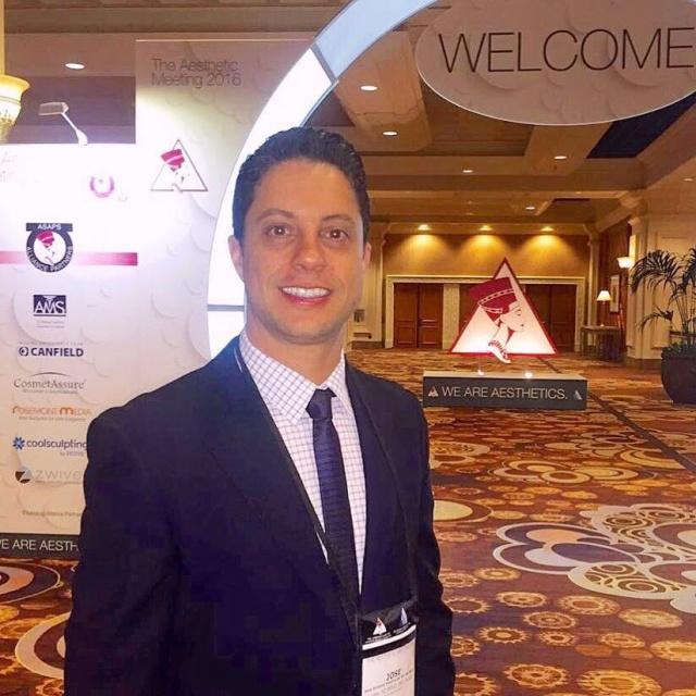 O médico José Barros Neto esteve nesse mês em Las Vegas participando do Congresso Americano de Cirurgia Plástica