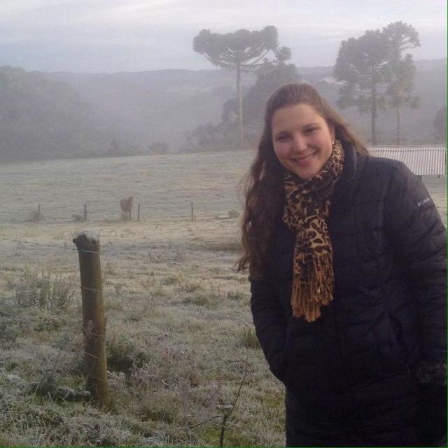 A empresária Lais Binotto Bazzo da Vinícola Urupema viu a sua Fazenda Quinta dos Montes amanhecer assim, ainda mais encantadora