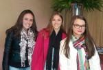 Bruna Waltrick Sousa, Luana Chaves e Anna Katarina Menegon