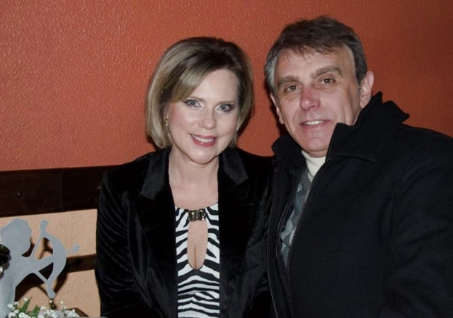 Márcia e Sérgio Dalmina prestigiando a noite dos namorados do Serrano Tênis Clube Foto Andressa Fagundes