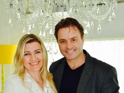 O casal de terapeutas Wagner Schlichting e Alexandra Breyer estará em Lages, em setembro, para o Workshop Corpo & Mente Foto Karla Cruz