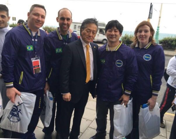 O empresário e atleta lageano Ricardo Soares está em Londres no mundial de taekwondo Foto Paulo Marques