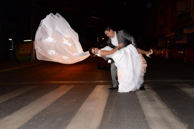 Show esse click dos recém-casados Rafael Albuquerque e Maever Proença Foto Caroline Parizotto