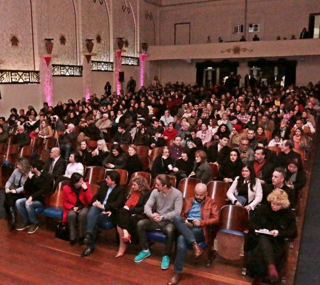 O Teatro Marajoara foi surpreendido a cada uma das sete noites com a presença do público, que ocupava seus lugares para maravilhar-se a cada acorde  Foto Zé Rabelo