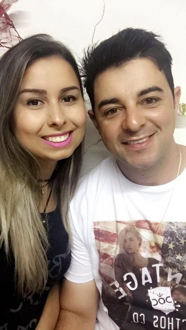 Fernanda com seu amado Rafael Machado de Liz que festejou seu aniversário no início desse mês, recebendo todo o carinho da namorada!