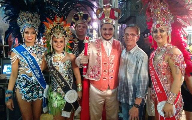 Folia em Bom Jardim da Serra O Assistente Social da Amures e Cisama, Lauro Francisco dos Santos, fez parte da comissão julgadora do 35º baile de carnaval do Clube Bonjardinense. Lembrando que o tradicional baile reúne as famílias da Serra e do Sul do Estado.