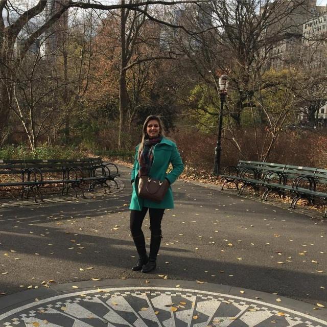 Dia de soprar velinhas com Carolina Francisco Zappellini, que em recente viagem curtiu as maravilhas de Nova Iorque