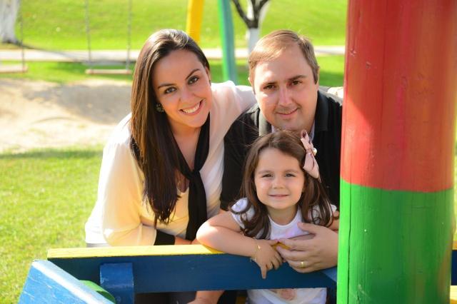 Vanessa Guanabara e Rafael Zanotto comemoraram os 3 aninhos da princesa Isabella Foto Caroline Parizotto