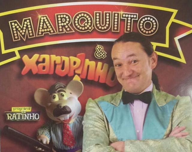 O engraçadíssimo show de Marquito & Xaropinho, estará no Teatro Marajoara no dia 5 de maio! Programem-se! Gargalhadas imperdíveis!