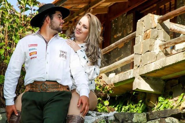 Sábado de Sim! para os apaixonados Luana Silveira e Luiz Francisco Campos de Souza Focus Fotos