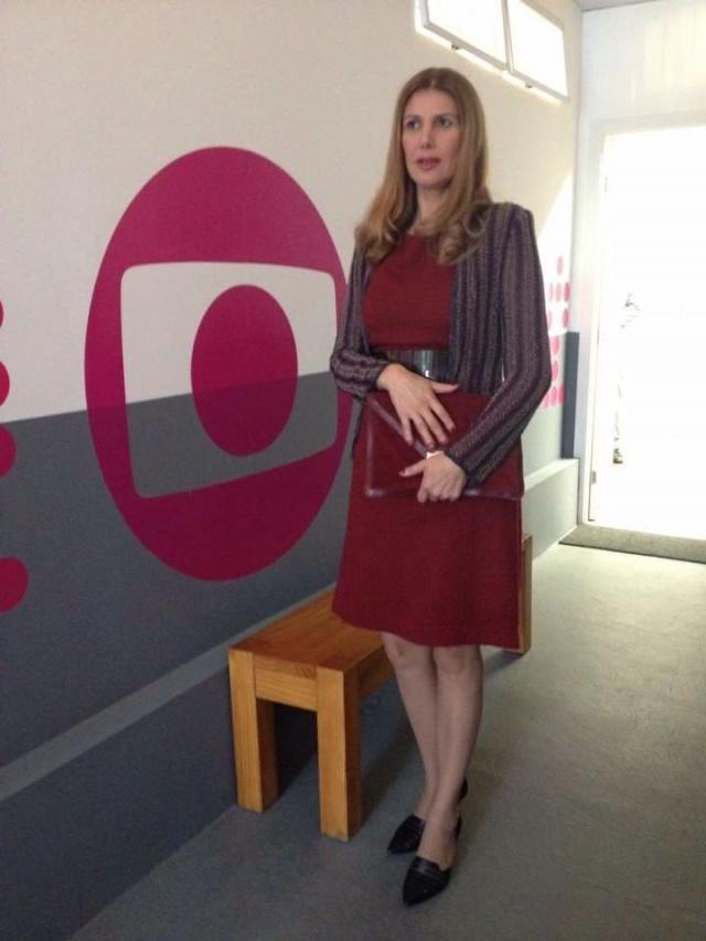 """Essa semana, a lageana Ivone Steffen, realizou participação especial na série """"Os dias eram assim"""". Aplausos!"""