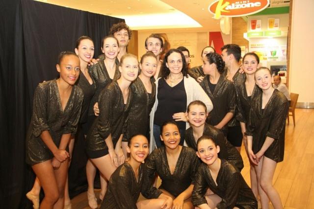 No Dança Lages, Mayra Ceron Pereira, orgulhosa de seus bailarinos da Academia Movere