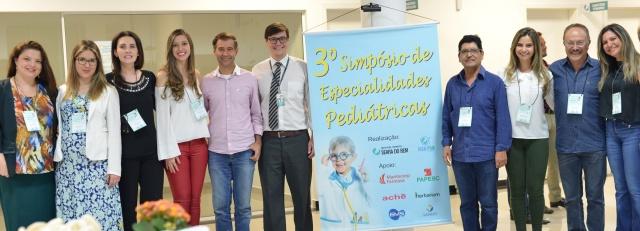 No dia 22 de setembro, foi realizado o 3º Simpósio de Especialidades Pediátricas. no Hospital Infantil Seara do Bem