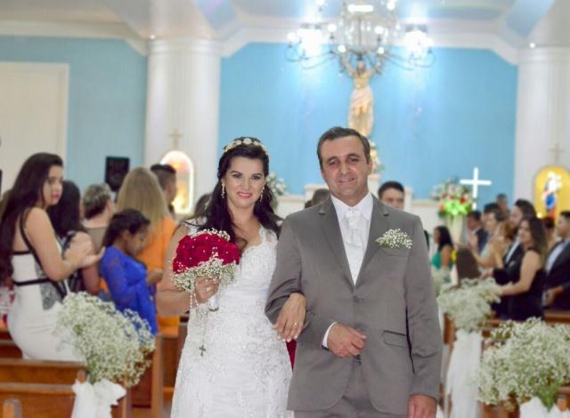 Maurício e Eva Leite... Casados e felizes! Foto Sandra Rosa