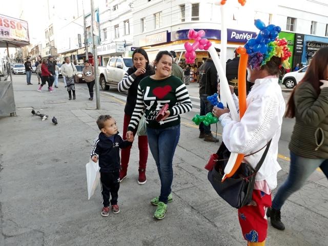 Alegria das crianças no Recanto do Pinhão