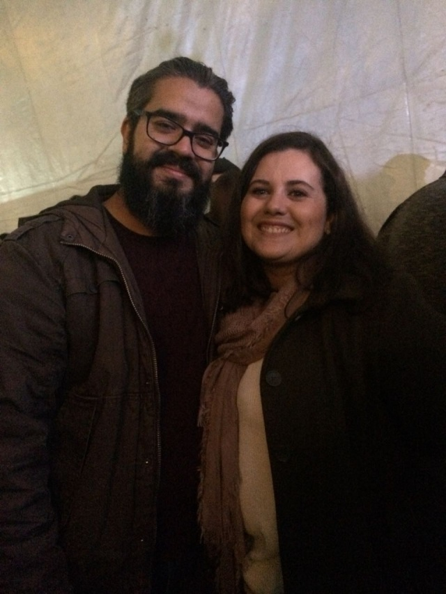 Felipe Camargo e Grazieli Trindade