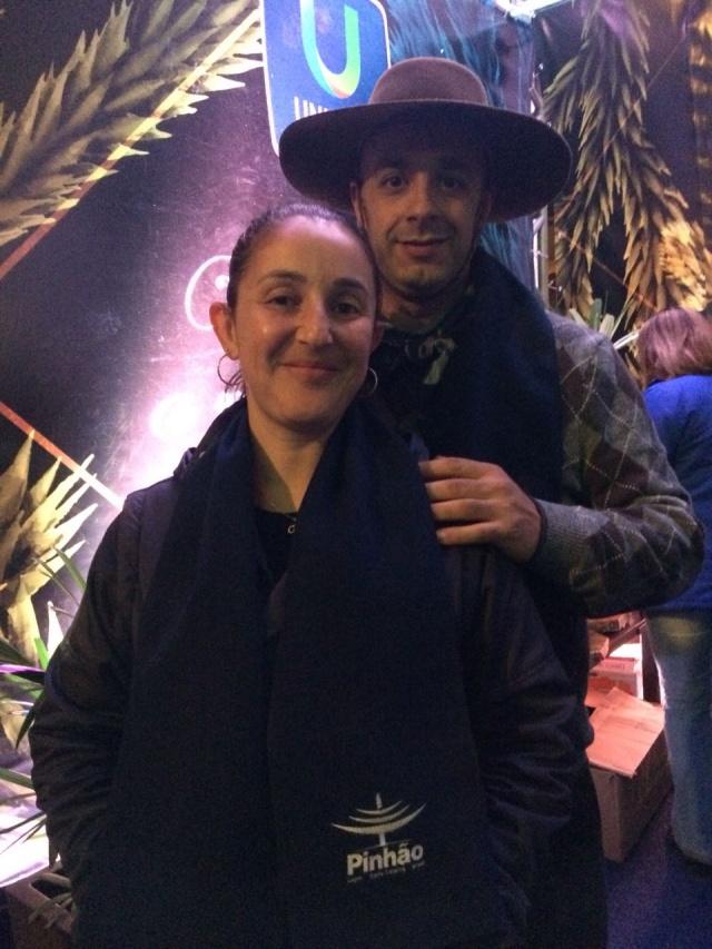 Ana Carolina Silva e Jacy Almeida
