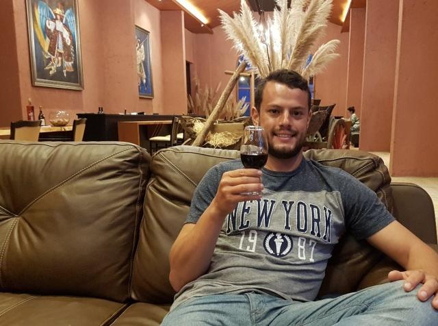 Allan Ferreira da Costa veio de Curitiba para curtir uns dias na Serra Catarinense e claro, não podia deixar de conhecer nossas vinícolas. Aqui um click no charmoso Sunset da Dalture