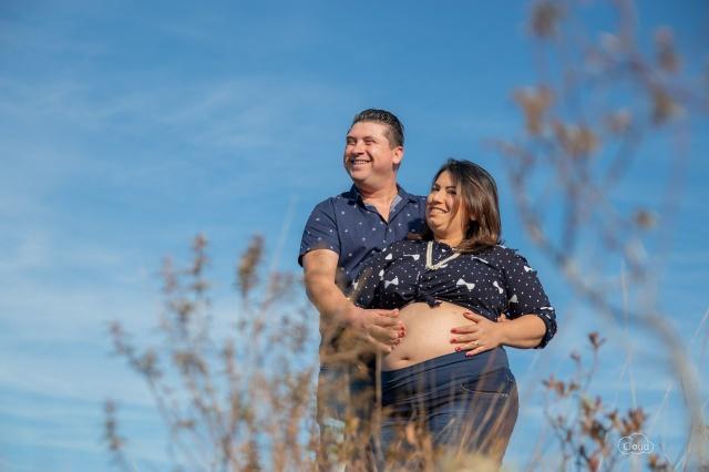 Karinelle Karine Duarte e Edivelto Passos Anacleto na doce espera pelo filho Arthur  Foto Cloud Photography