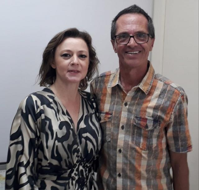 O Assistente Social da Amures e Cisama, Lauro Santos, foi recebido em Florianópolis pela Secretária de Estado da Assistência Social, Maria Elisa da Silveira de Caro. Na oportunidade foi apresentado um diagnóstico da Assistência Social na Serra Catarinense e discutiu-se tratativas de parcerias.