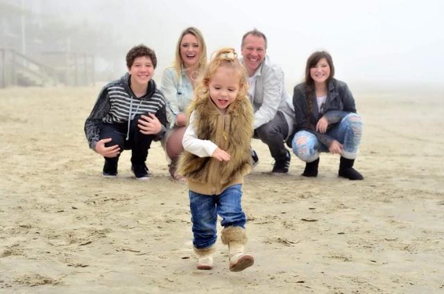 A pequena Sophia deixando a família Pieri sorrindo à toa!