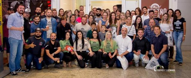 Imprensa e convidados prestigiaram o lançamento do Serrano BBQ, o primeiro Festival de Churrasco neste estilo em Santa Catarina. O evento promete ser sucesso e acontece no próximo dia 23 de março, no Lages Garden Shopping
