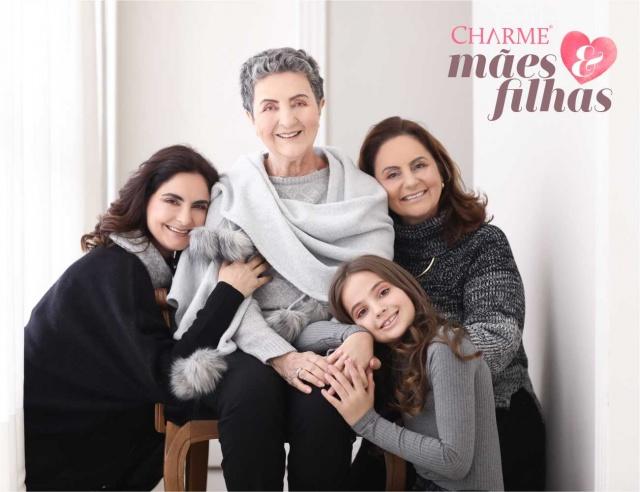 Caroline, Eda, Nereida e Sofia Scur