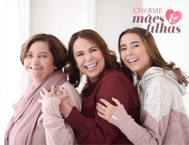 Lenir, Márcia e Alana de Moura