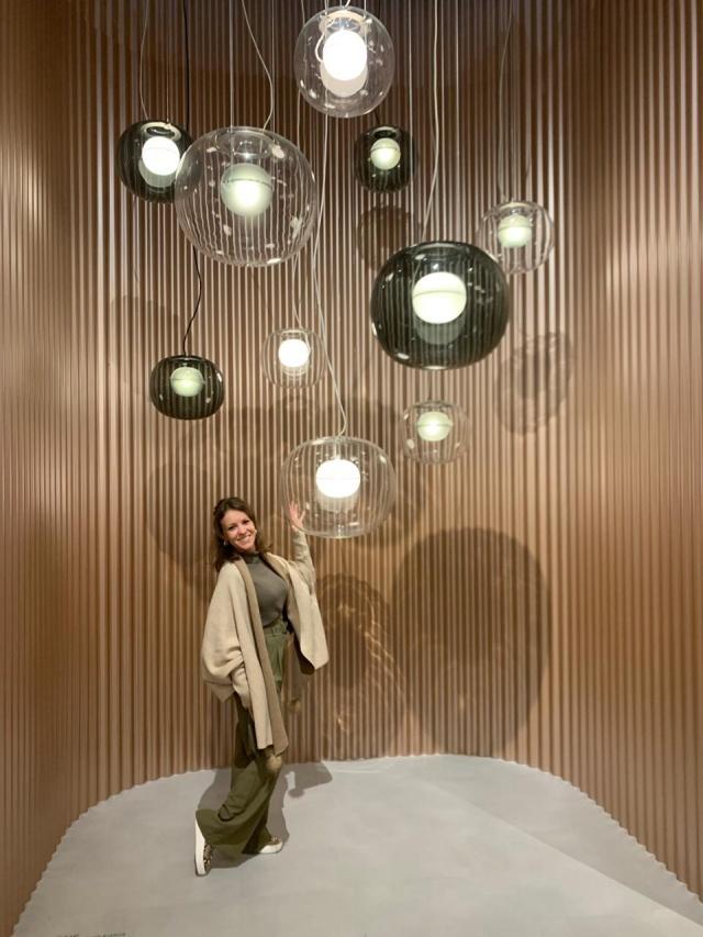 A arquiteta Caroline Rocha Bertotto esteve em Milão, na Itália, participando da Semana de Design. Carol voltou com muitas novidades na bagagem