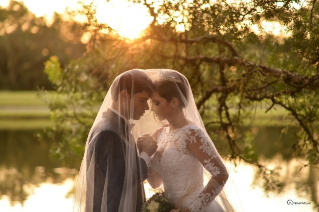 Recém-casados e felizes: Ana Letícia Stahling e Luís Ricardo Merten, casal lindo de Otacilio Costa