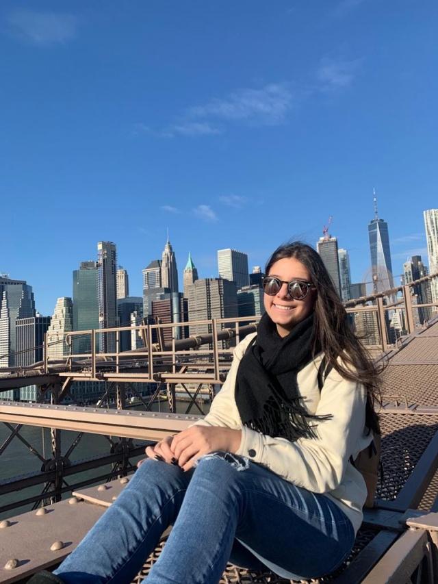 Os 18 anos de Beatriz Beatriz Erig Omizzolo, a querida neta de Eloá Marisa Erig, completou 18 anos e festejou a feliz data junto com a família em Nova York