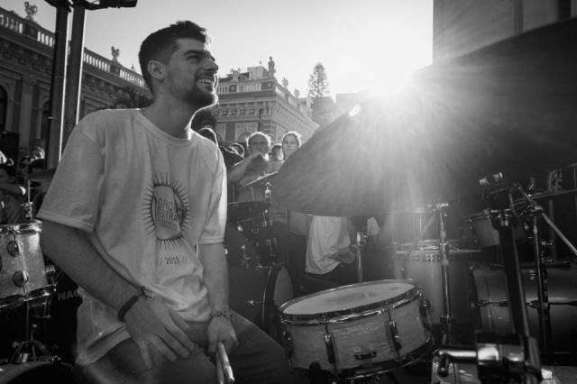 """O feliz aniversário especial de hoje vai para o querido """"Anjo de Plantão"""" baterista: Gabriel Roberto Zatta Krahl. Parabéns!!!"""