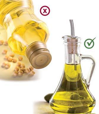 trocas oleo soja por azeite