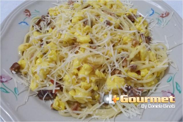CL Gourmet 25102014 Espaguete a Carbonara