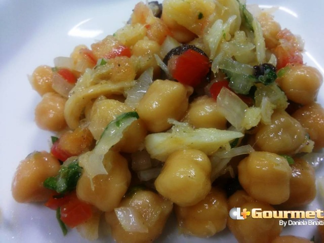 CL Gourmet 23122014 Salada Grão de Bico com Bacalhau