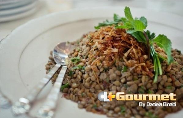 CL Gourmet 30122014 Salada de lentilahas com cebola caramelizada