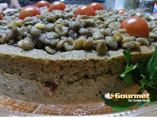 CL Gourmet Torta de Lentilhas