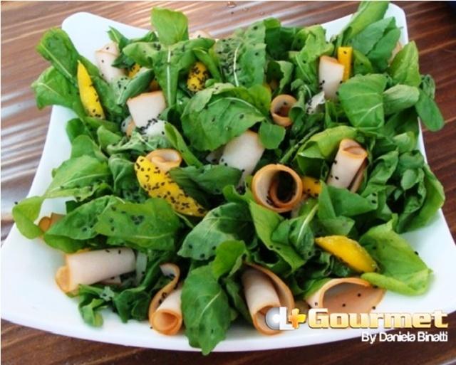 CL Gourmet 130415 Salada de rucula com chester defumado e manga