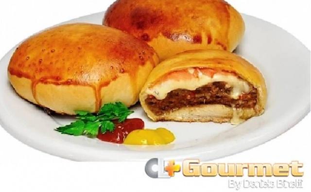 hamburguer de forno
