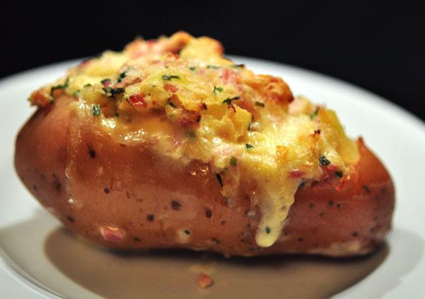 batata recheada bacon