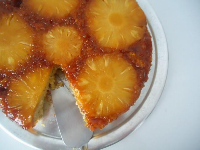 Torta de abacaxi invertida