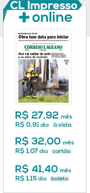 Assinatura Jornal Correio Lageano Impresso