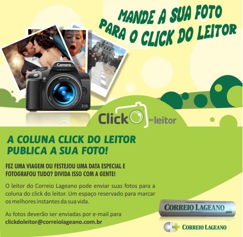 Mande a sua Foto para o click do Leitor