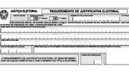 Última semana para eleitor justificar ausência no 1º turno das eleições