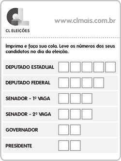 Cola para Votar