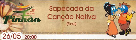 21ª Sapecada da Canção Nativa Final