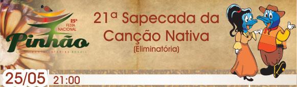 21ª Sapecada da Canção Nativa