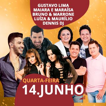Show 14 de junho