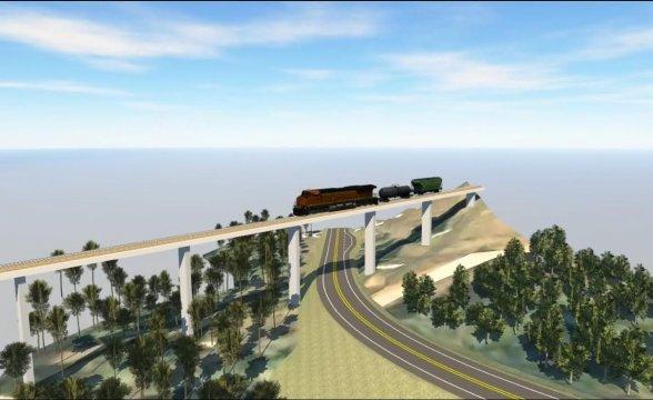 Coxilha Rica logo terá três pontes de concreto e asfalto